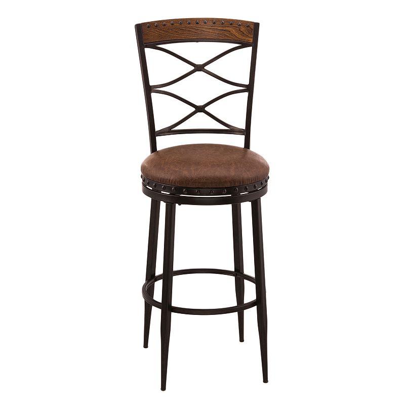Hillsdale Furniture Zamora Swivel Bar Stool