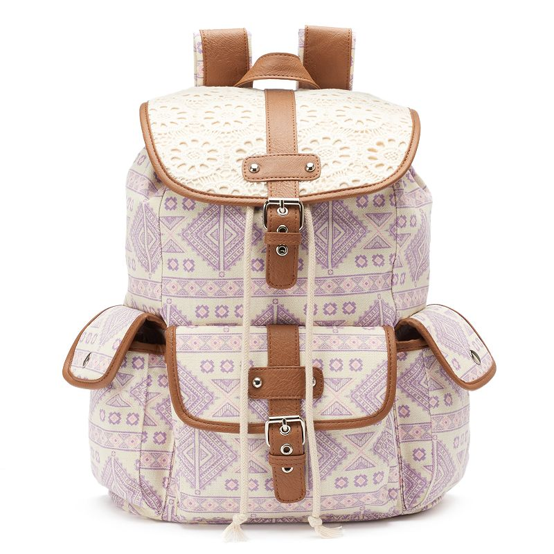 Mudd® Pastel Tribal Backpack