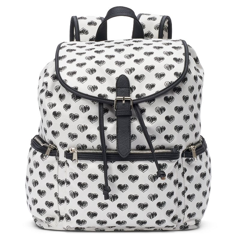 Candie's® Nicole Scribble Hearts Backpack