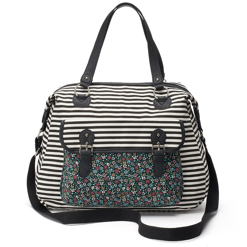 Candie's® Emma Striped Weekender Bag