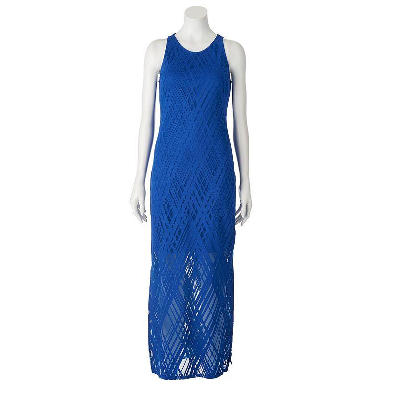Women's Apt. 9® Geometric Burnout Maxi Dress