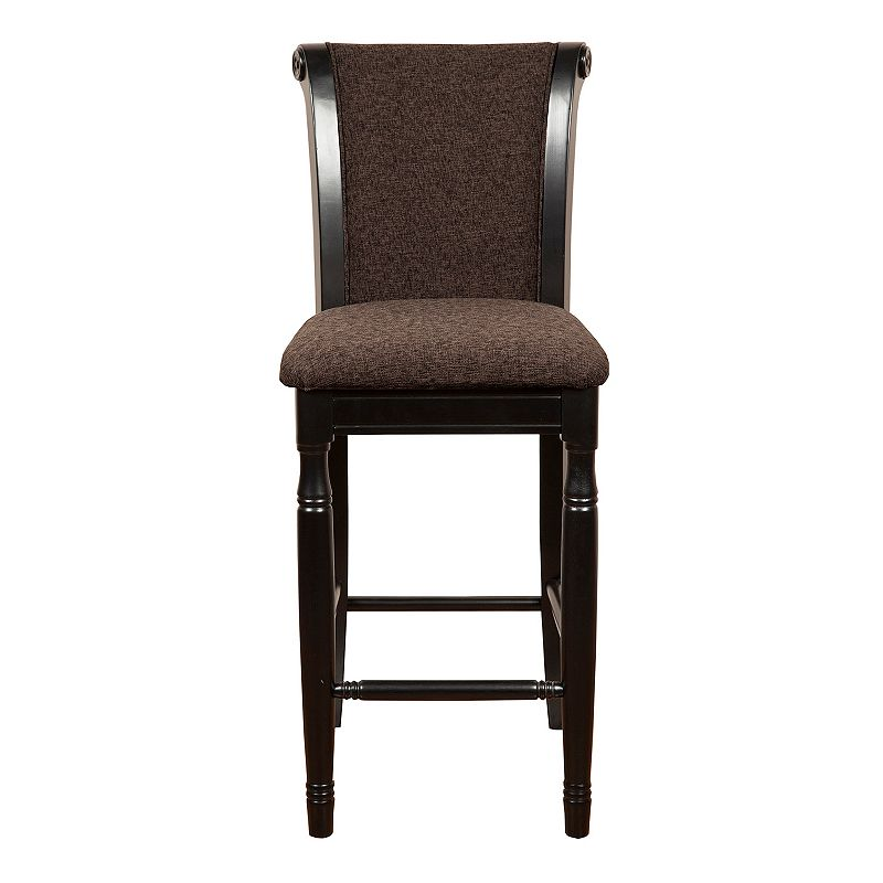 HomePop Chenille Bar Stool