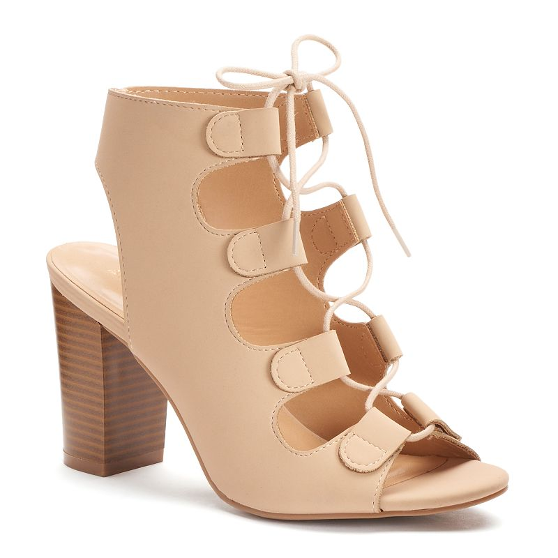 Apt. 9® Women's Stacked Heel Sandals