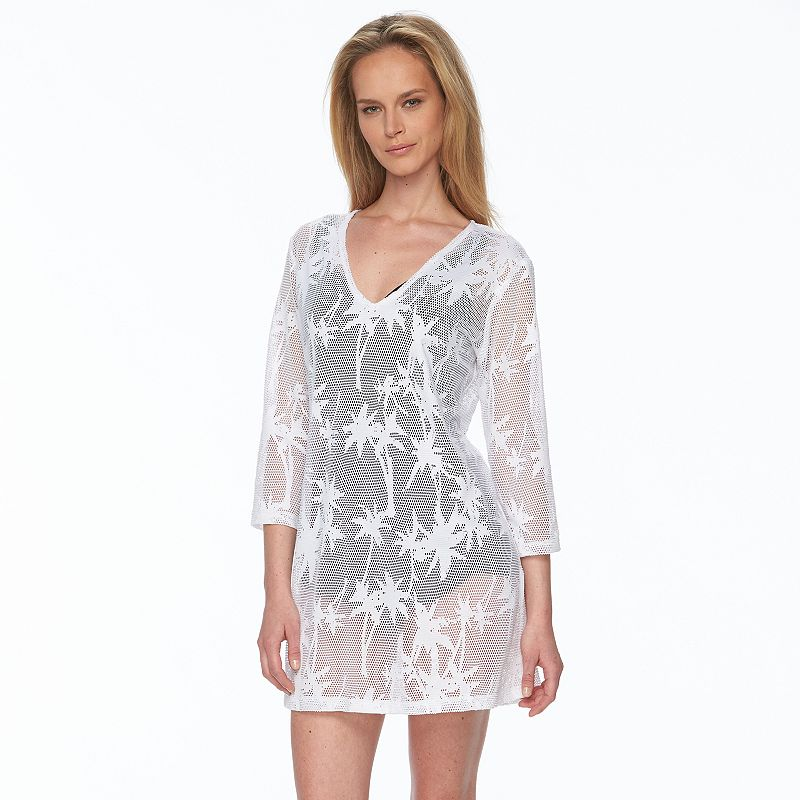 Women's Apt. 9® Crochet Palm Leaf Cover-Up