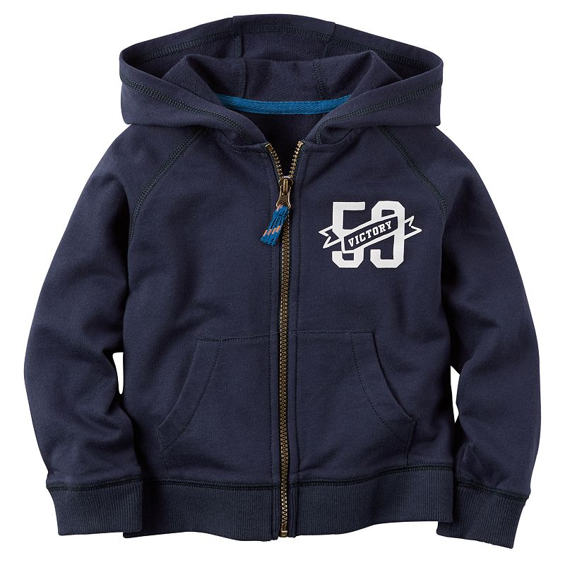 Boys 4-7 Carter's French Terry Hoodie