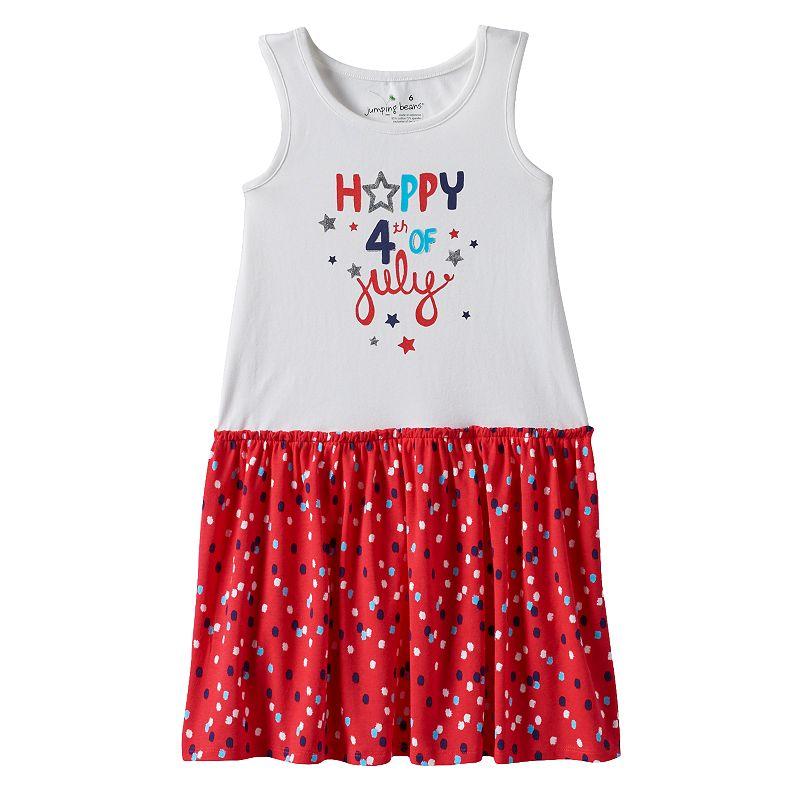 Toddler Girl Jumping Beans® Patriotic