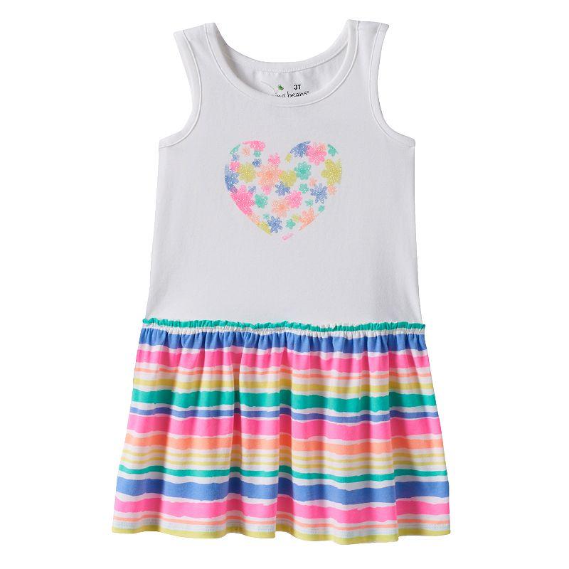 Toddler Girl Jumping Beans® Drop-Waist Tank Dress