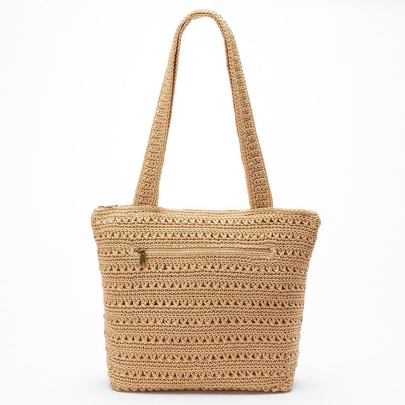 Croft & Barrow® Crochet Tote Bag