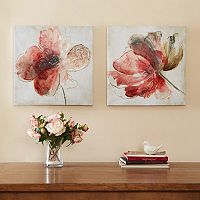 Madison Park Lovely Blossoms Canvas 2-pc. Wall Art Set