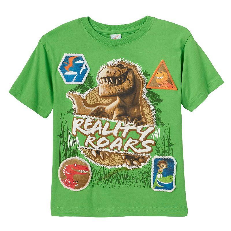 Disney / Pixar The Good Dinosaur Boys 4-7 Puff-Print Tee