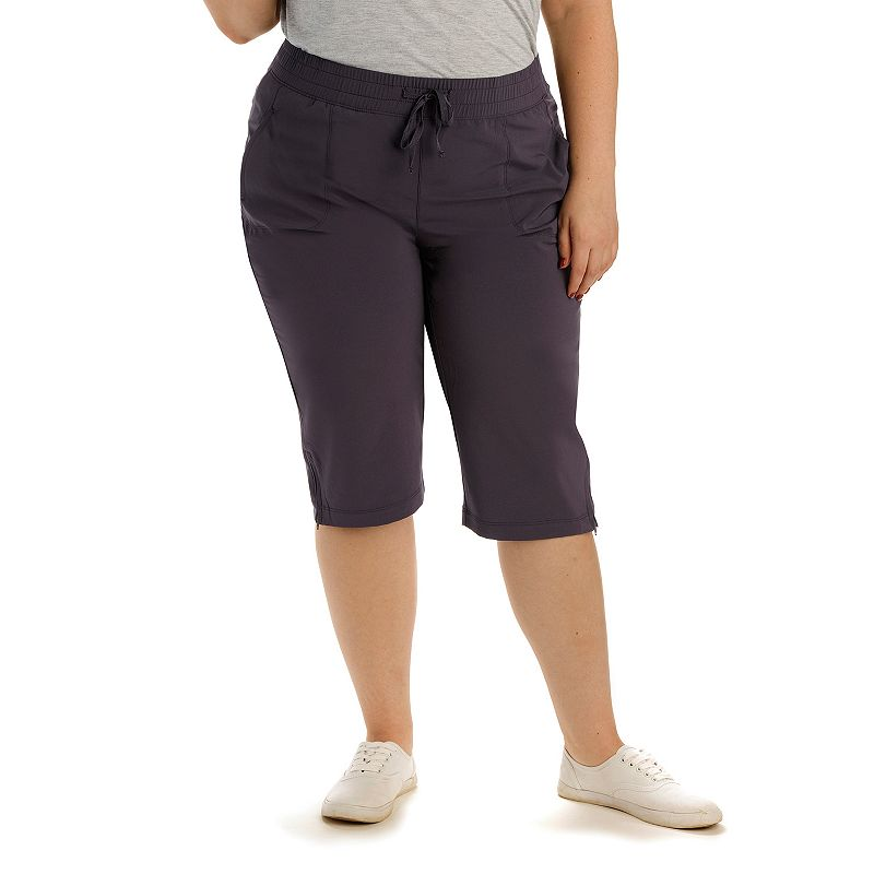 Plus Size Lee Beckett Active Skimmer Capris