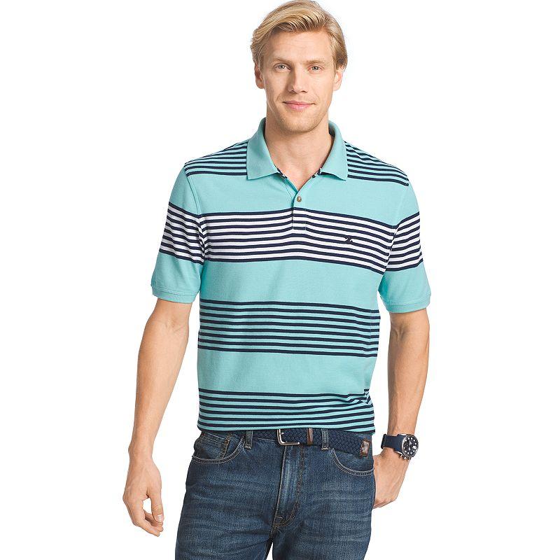 Men's IZOD Awning Striped Polo