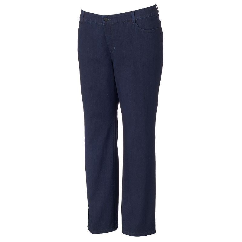 Plus Size Croft & Barrow® Straight-Leg Jeans