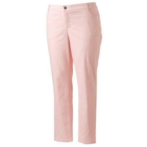 Plus Size Croft & Barrow® Straight-Leg Jeans