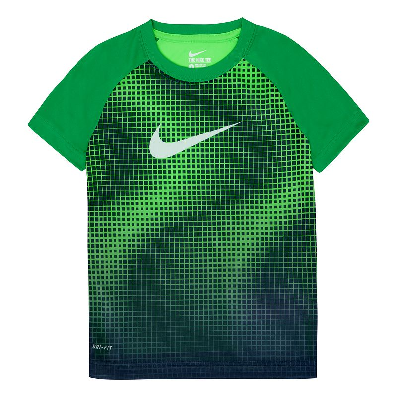 Toddler Boy Nike Dri-FIT Raglan Tee