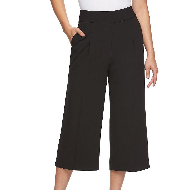 Petite Jennifer Lopez Cropped Dress Pants