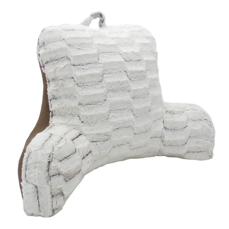 Elements Nevada Plush Backrest Pillow with Solid Backing