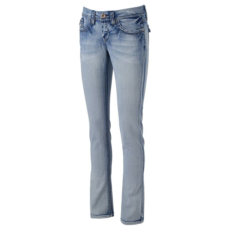 Juniors' Hydraulic Lola Baby Bootcut Jeans