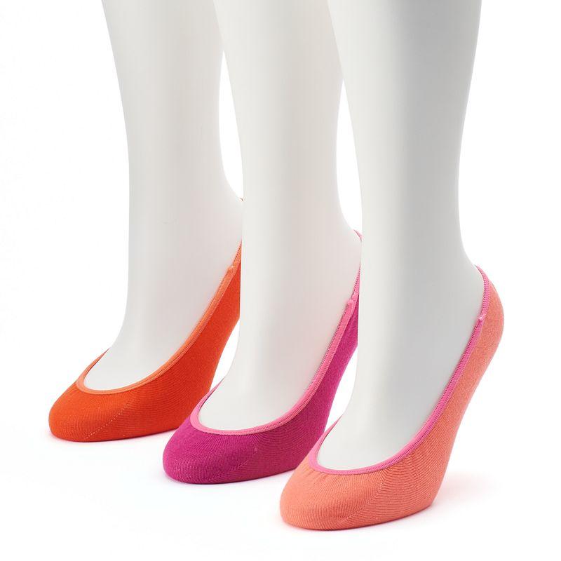 Women's Keds 3-pk. Patterned Liner Socks