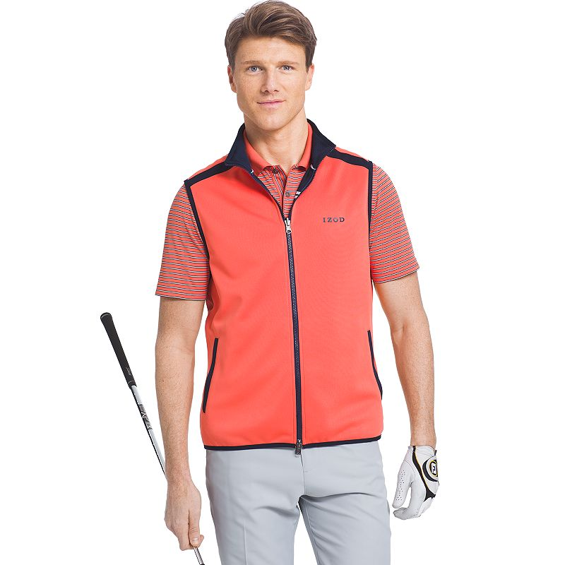 Men's IZOD Classic-Fit Reversible Performance Golf Vest