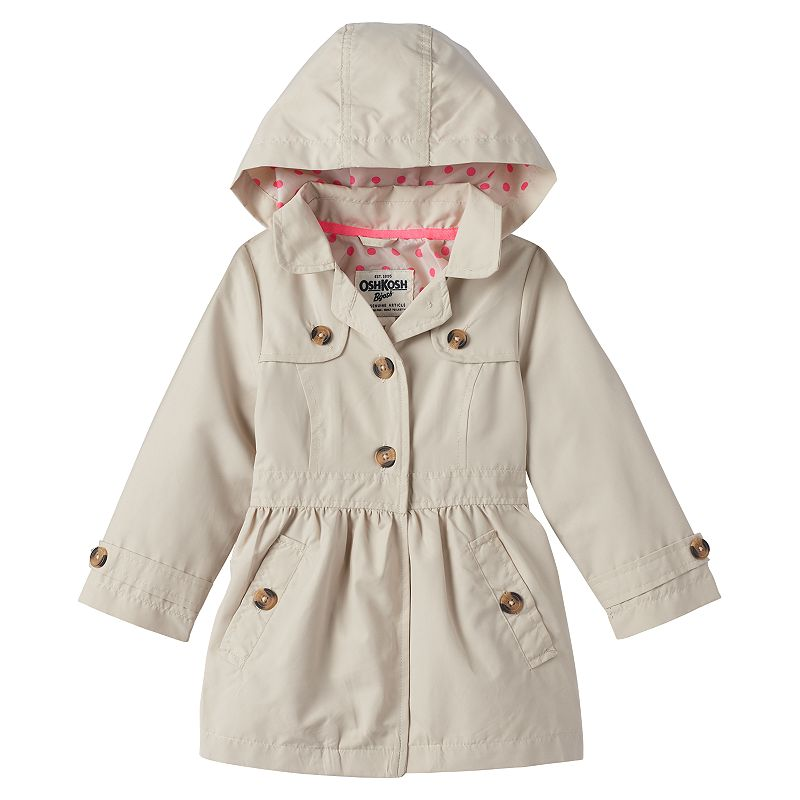 Girls 4-6x OshKosh B'gosh® Shirred Waist Lightweight Jacket