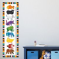 Marmont Hill Eric Carle Animals Wall Growth Chart