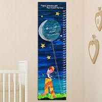 Marmont Hill Eric Carle ''Get the Moon for Me'' Wall Growth Chart