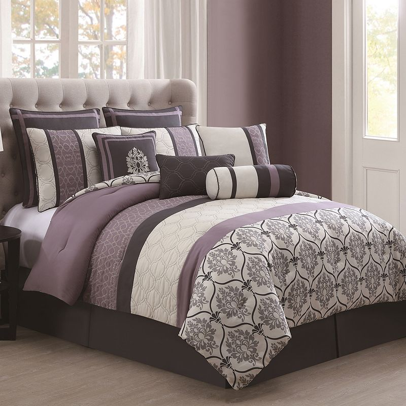 Darla 10-piece Embroidered Bed Set