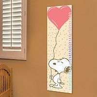 Marmont Hill Peanuts Snoopy Balloon 2 Wall Growth Chart