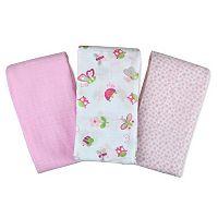 Baby Girl SwaddleMe 3-pk. Muslin Blankets