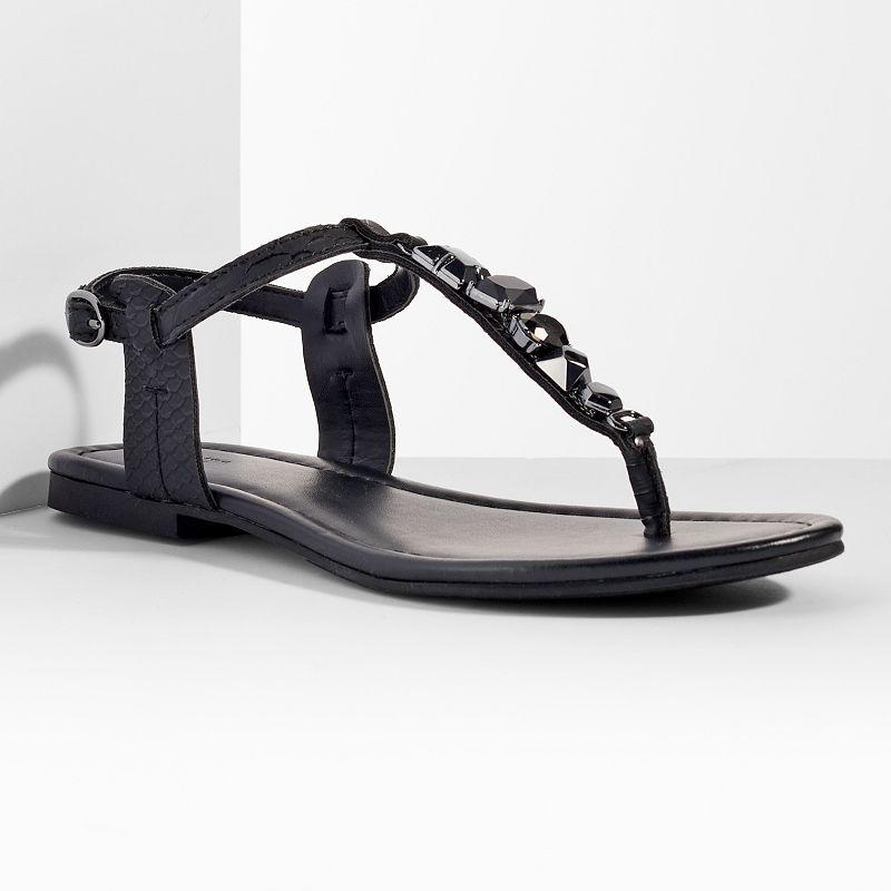 Simply Vera Vera Wang Women's Thong Flat Sandals