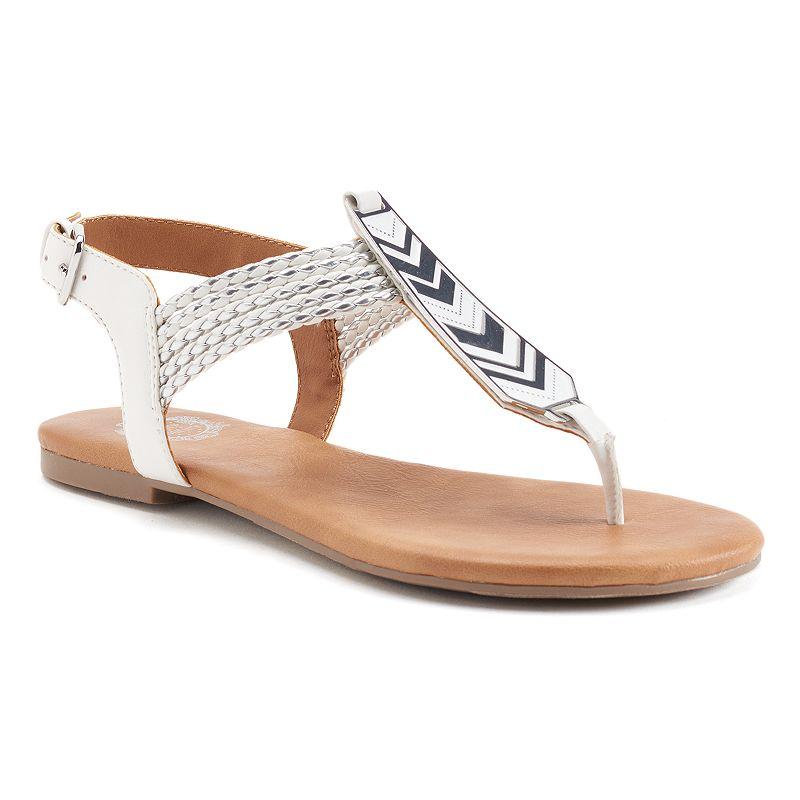 Juicy Couture Women's T-Strap Sandals