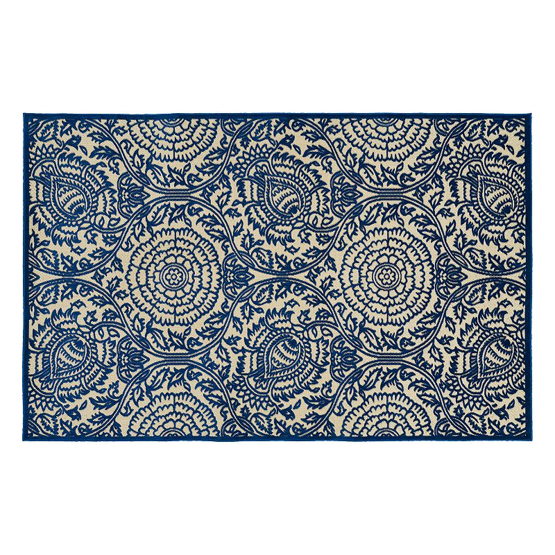 Kaleen Five Seasons Floral Indoor Outdoor Rug