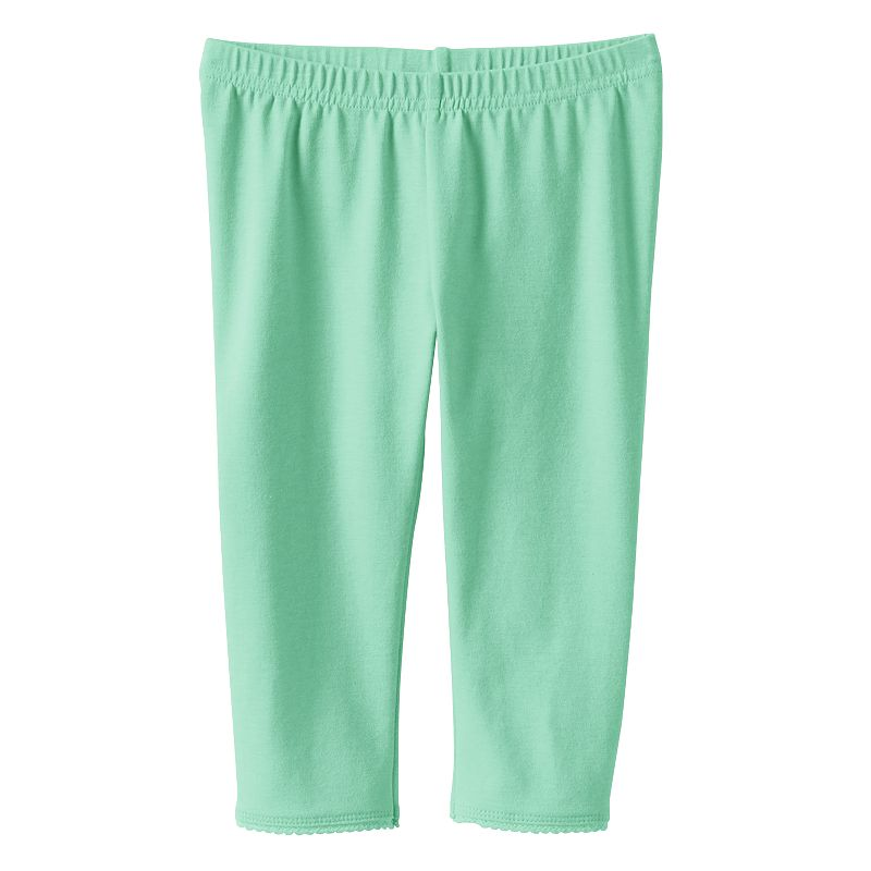 Toddler Girl Jumping Beans® Solid Capri Leggings