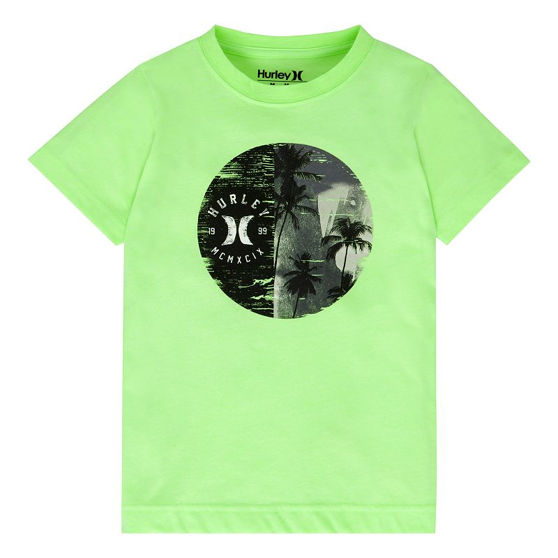 Boys 4-7 Hurley Palm Tree Tee