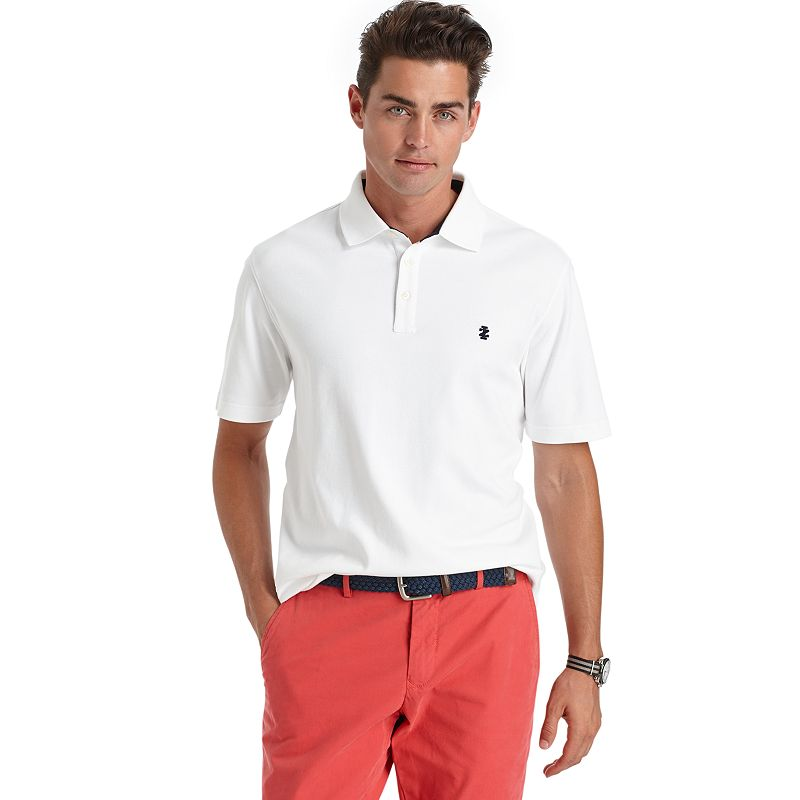 Men's IZOD Solid Interlock Polo