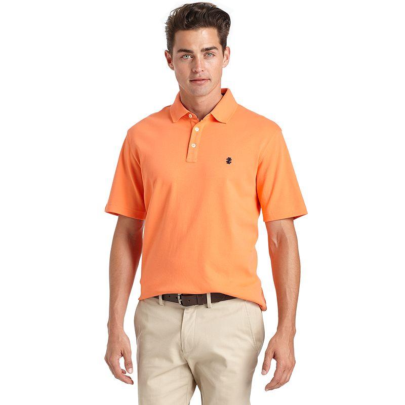 Men's IZOD Solid Interlock Polo