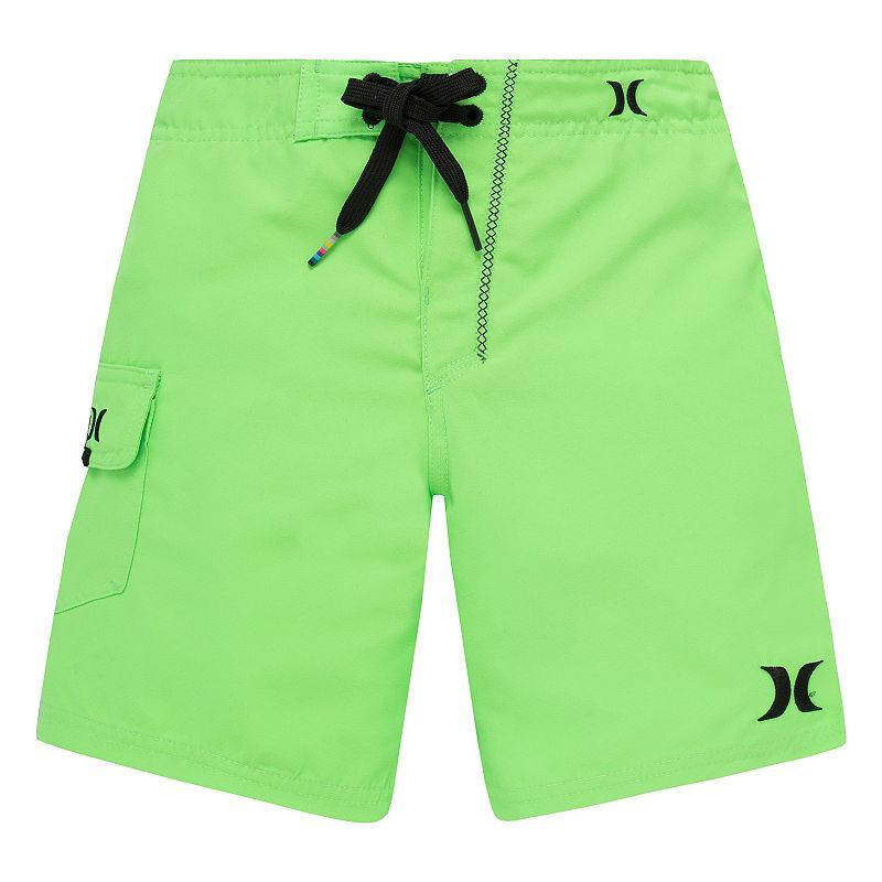 Boys 4-7 Hurley Logo Swim Trunks