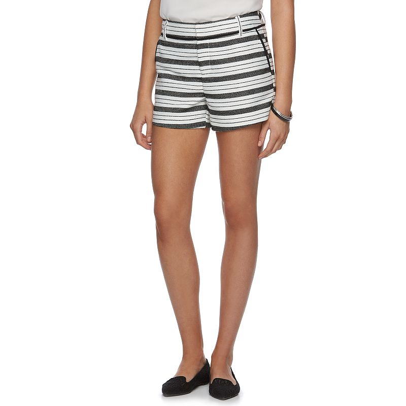 Women's ELLE™ Striped Shorts