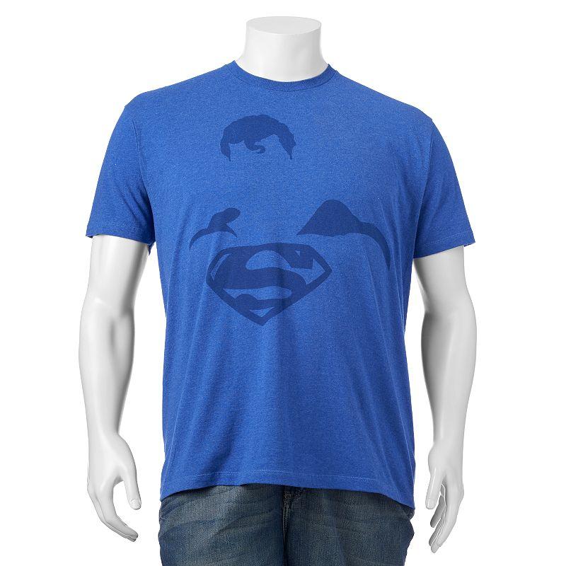 Big & Tall Faceless Superman Tee