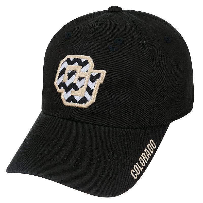 Adult Top of the World Colorado Buffaloes Chevron Logo Cap