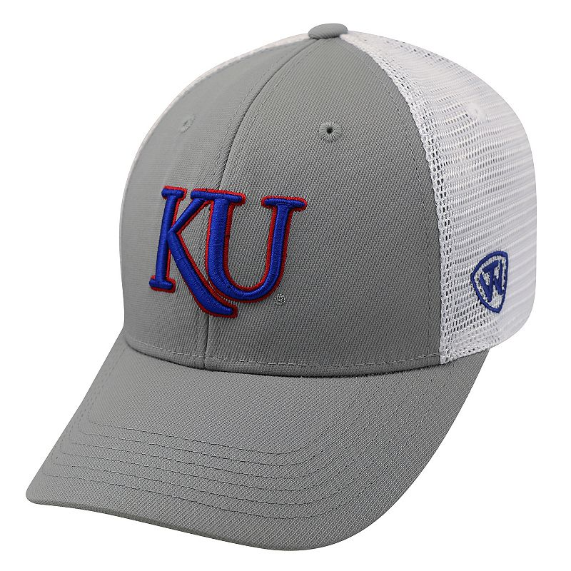 Adult Top of the World Kansas Jayhawks Marse One-Fit Cap