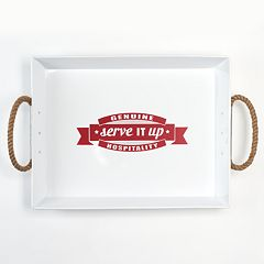 Food Network Typography 24-in. Serving Tray by