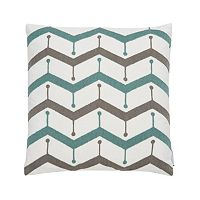 Levtex Skylar Embroidered Chevron Throw Pillow