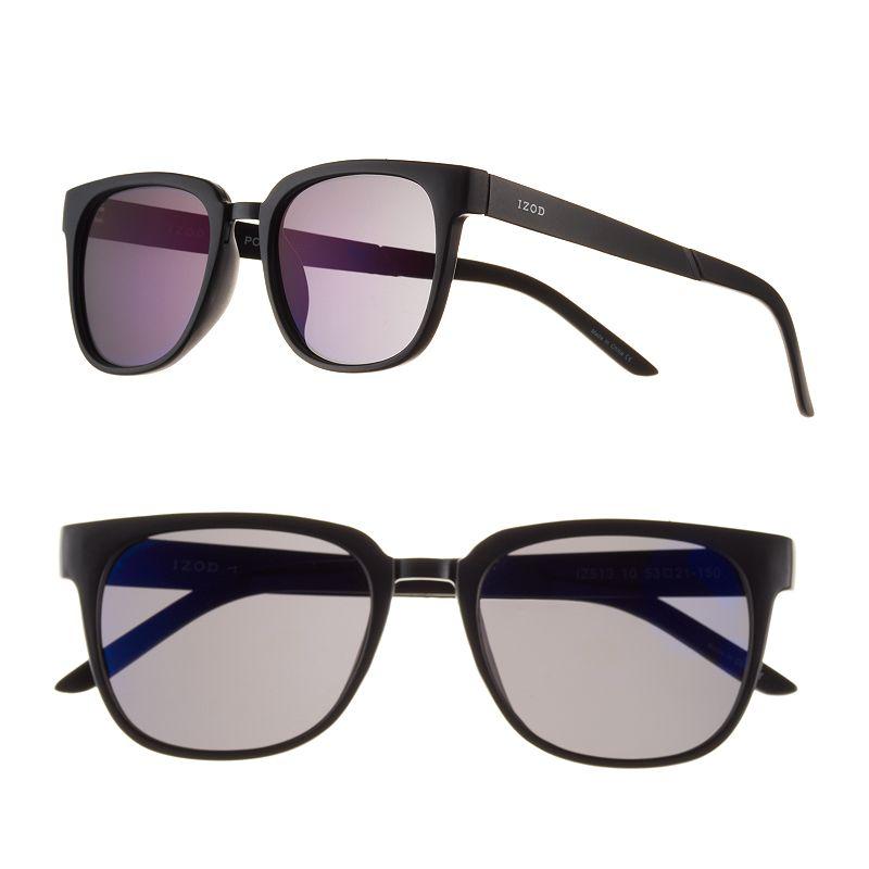 Men's IZOD Polarized Square Sunglasses