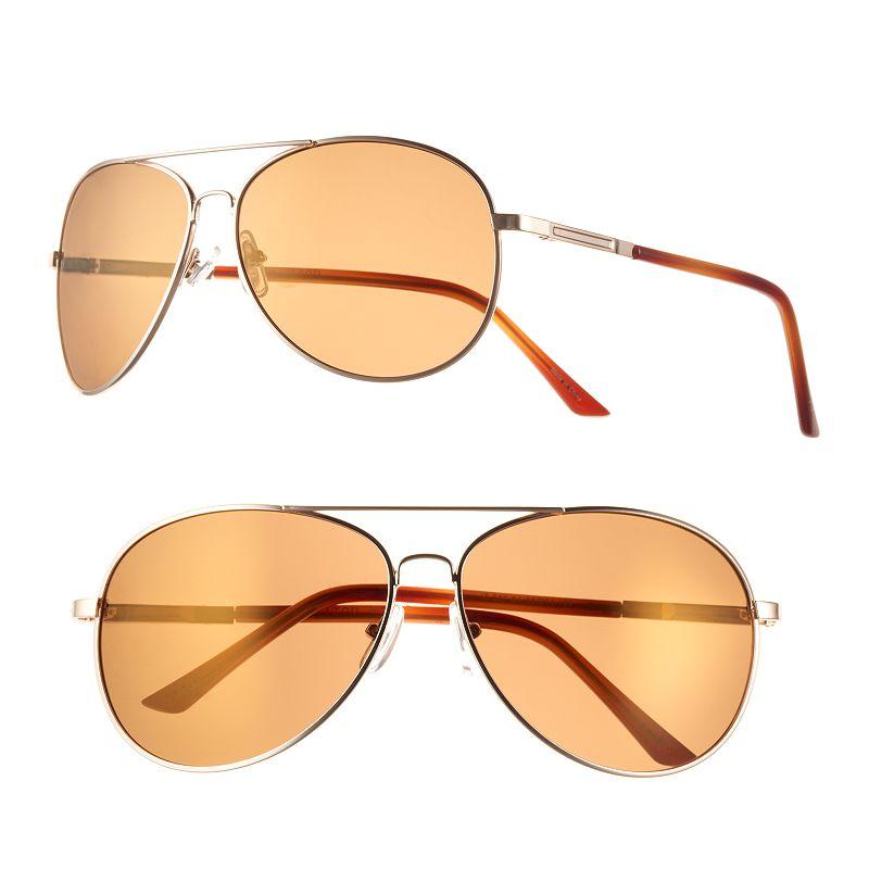 Men's IZOD Polarized Aviator Sunglasses
