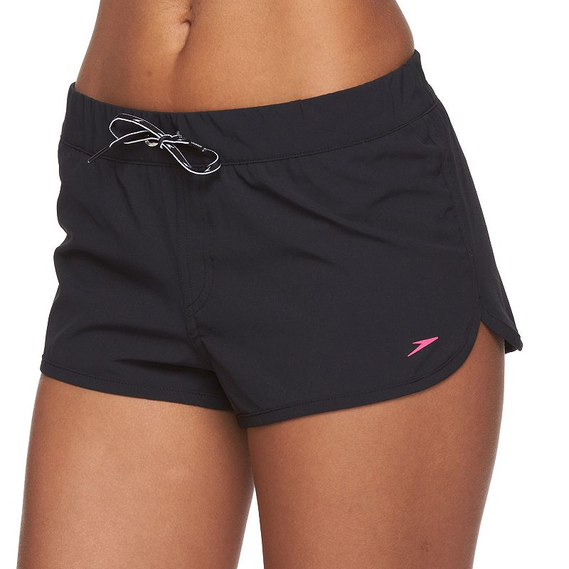 Women's Speedo Solid Cover-Up Swim Shorts