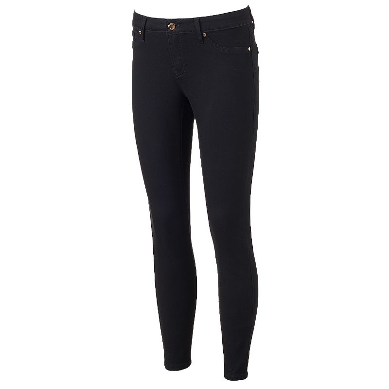 Women's Jennifer Lopez Black Super Skinny Jeans