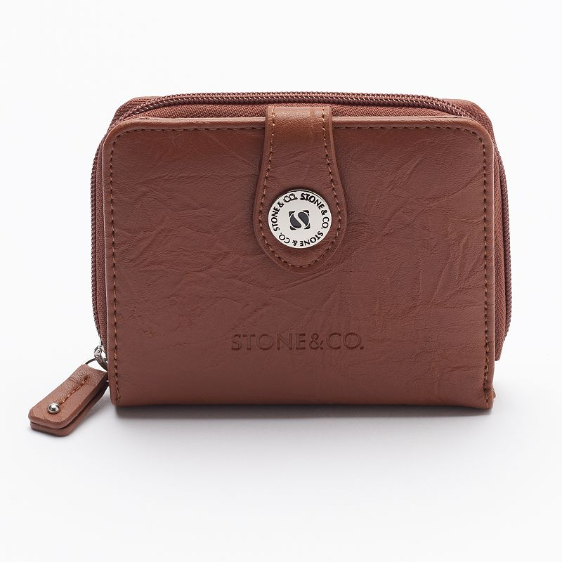 Stone & Co. Leather Multifunction Wallet