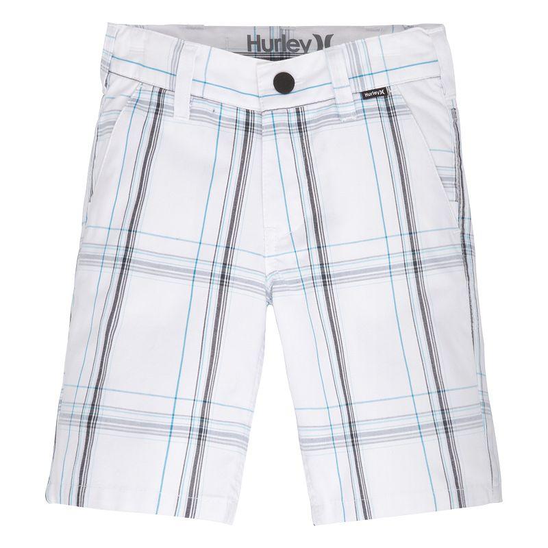 Toddler Boy Hurley Plaid Shorts